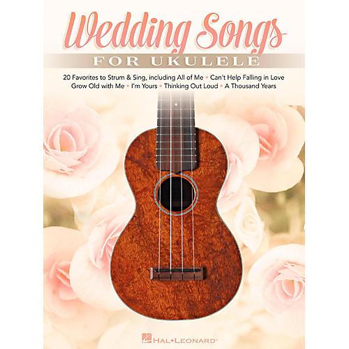 Hal Leonard Wedding Songs For Ukulele - 20 Favorites to Strum & Sing-thumbnail