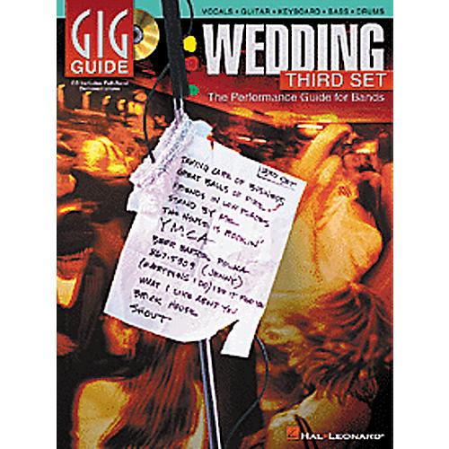 Hal Leonard Wedding Third Set Gig Guide (Book/CD)-thumbnail