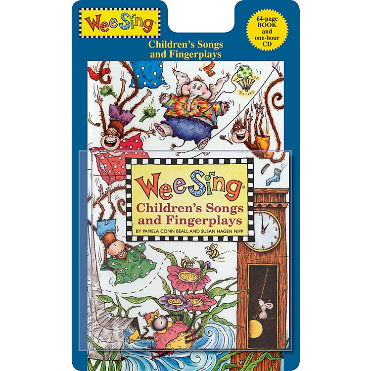 Penguin Books Wee Sing Children's Songs and Fingerplays Book & CD