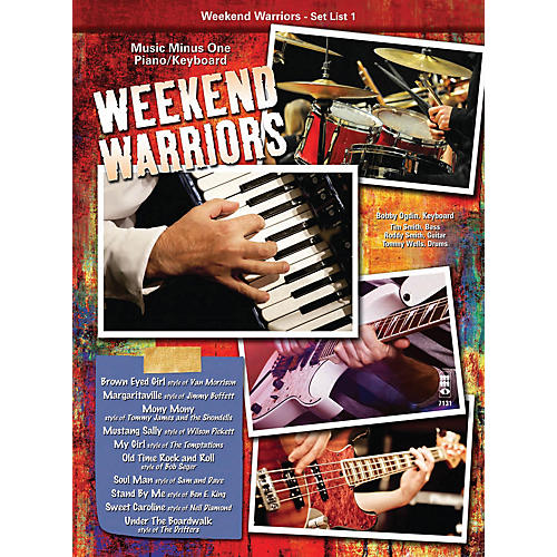 Music Minus One Weekend Warriors - Set List 1, Piano/Keyboard Music Minus One Series Softcover with CD by Various-thumbnail
