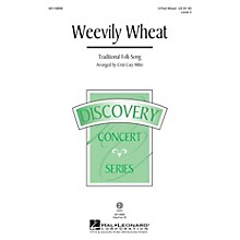 Hal Leonard Weevily Wheat (Discovery Level 2) VoiceTrax CD Arranged by Cristi Cary Miller