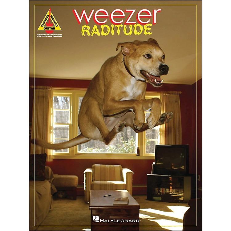 Hal LeonardWeezer - Raditude Tab Songbook