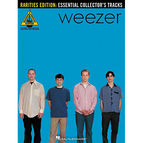 hal leonard weezer rarities edition guitar tab songbook musician 39 s friend. Black Bedroom Furniture Sets. Home Design Ideas