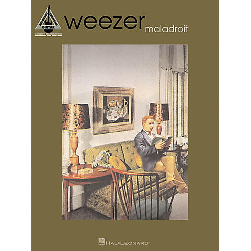 hal leonard weezer maladroit guitar tab songbook musician 39 s friend. Black Bedroom Furniture Sets. Home Design Ideas