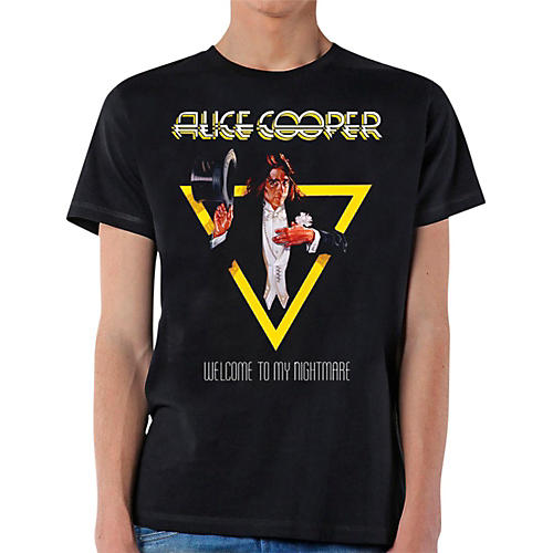 Alice Cooper Welcome To My Nightmare T-Shirt-thumbnail