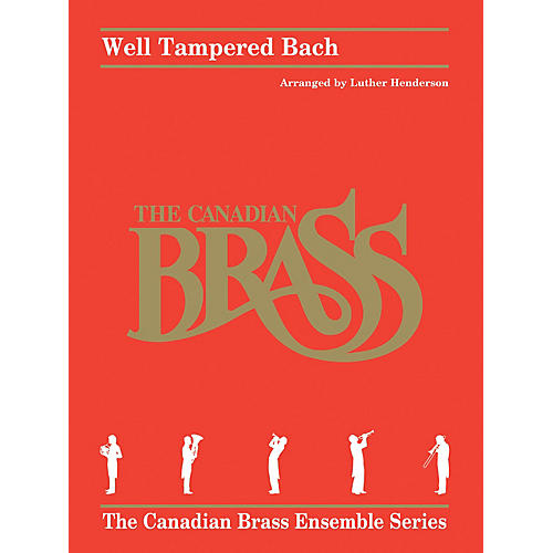 Hal Leonard Well Tampered Bach Brass Ensemble Series by Johann Sebastian Bach Arranged by Luther Henderson-thumbnail