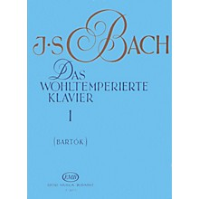 Editio Musica Budapest Well Tempered Clavier - Volume 1 BWV 846-869 EMB Series Composed by Johan Sebastian Bach