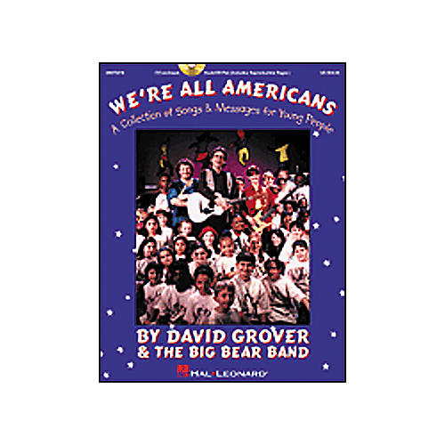 Hal Leonard We're All Americans-A Collection of Songs and Messages For Young People Concert CD