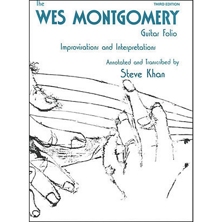 Jamey AebersoldWes Montgomery Guitar Folio