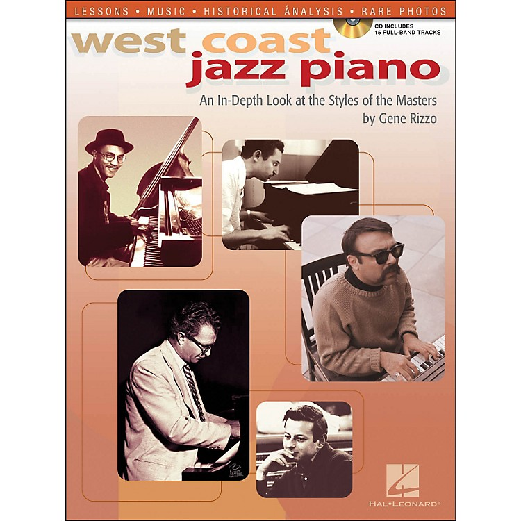 Hal Leonard West Coast Jazz Piano An In-Depth Look At The Style Of The Masters Book/CD
