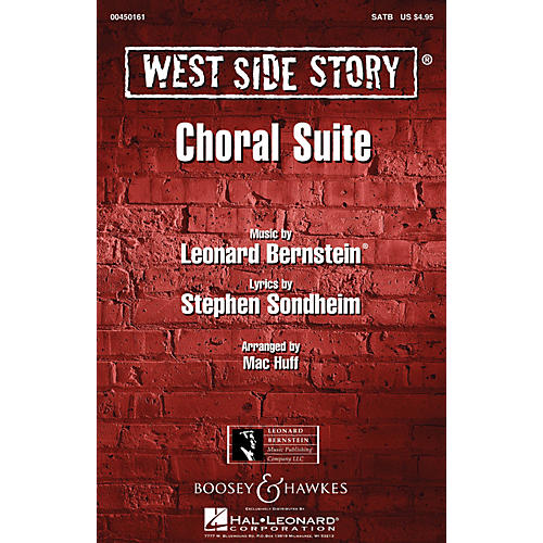Hal Leonard West Side Story (Choral Suite) Arranged by Mac Huff-thumbnail