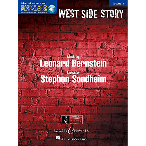 Boosey and Hawkes West Side Story Easy Piano Play-Along Vol. 18 Book/Online Audio-thumbnail