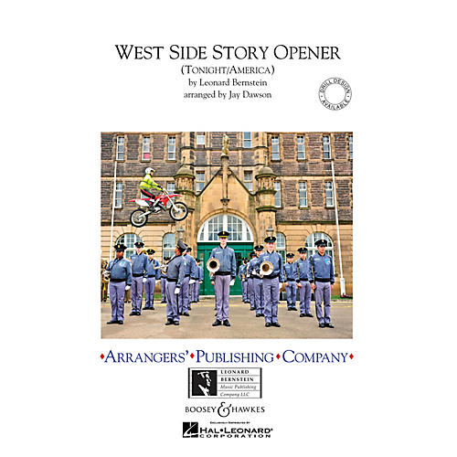 Arrangers West Side Story Opener Marching Band Level 2.5 Arranged by Jay Dawson-thumbnail