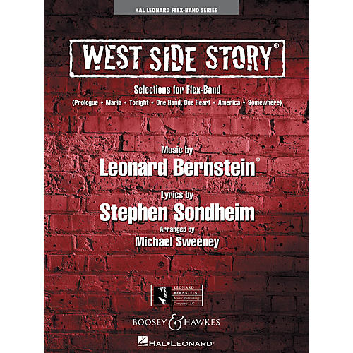 Hal Leonard West Side Story (Selections for Flex-Band) Concert Band Level 2-3 Arranged by Michael Sweeney-thumbnail