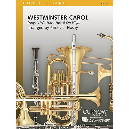 Curnow Music Westminster Carol (Grade 4 - Score and Parts) Concert Band Level 4 Composed by James L. Hosay-thumbnail