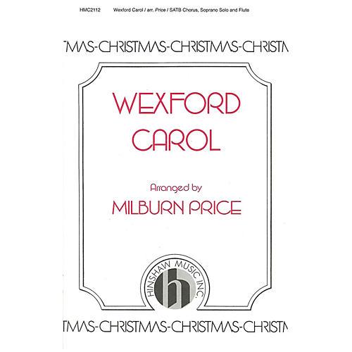 Hinshaw Music Wexford Carol SATB arranged by Milburn Price