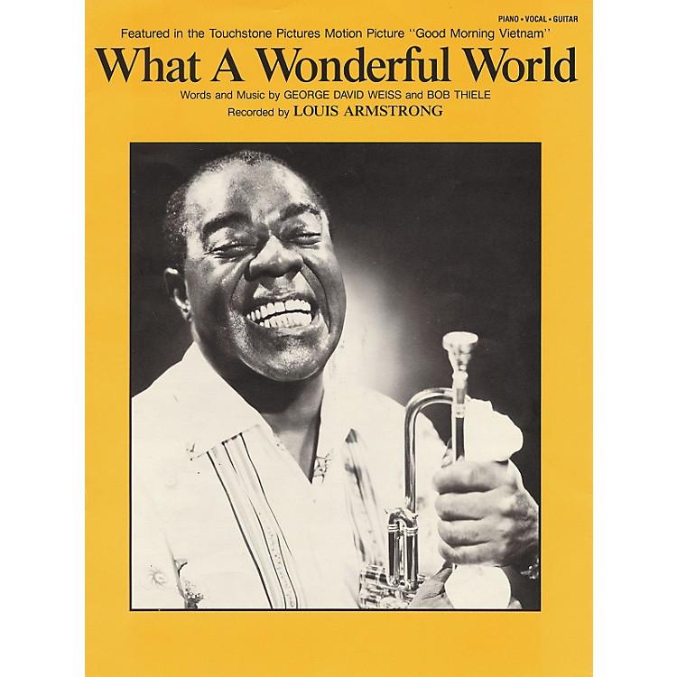 Hal LeonardWhat A Wonderful World