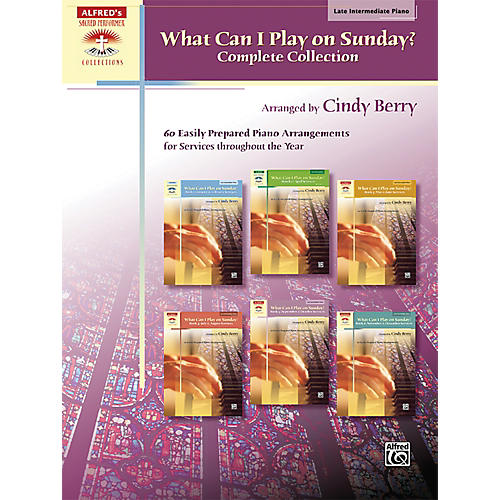 Alfred What Can I Play on Sunday? Complete Collection Piano Book-thumbnail