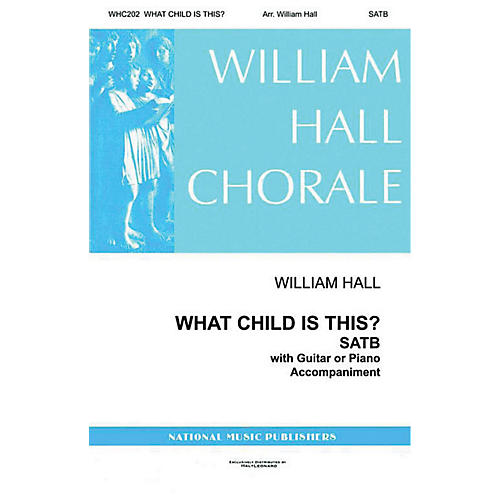 Gentry Publications What Child Is This SATTBB arranged by William D. Hall-thumbnail