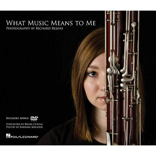 Hal Leonard What Music Means to Me Book Series Hardcover with DVD Written by Richard Rejino