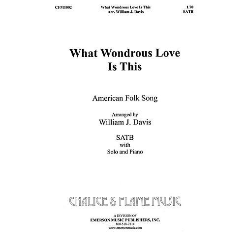 Fred Bock Music What Wondrous Love SATB composed by William J. Davis-thumbnail