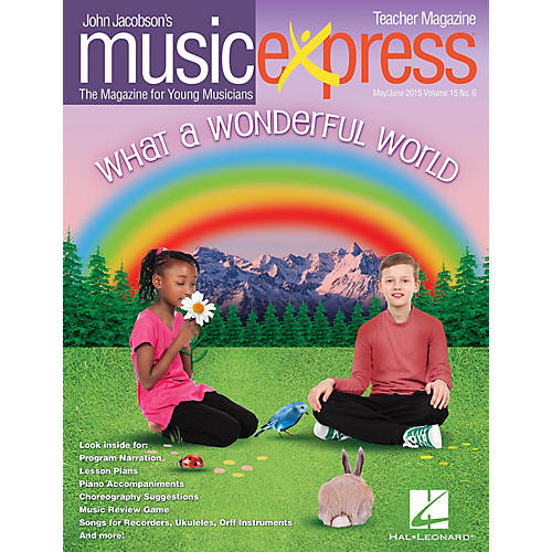 Hal Leonard What a Wonderful World Vol. 15 No. 6 PREMIUM COMPLETE PAK by Louis Armstrong Arranged by Emily Crocker