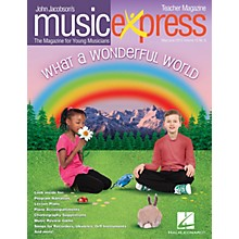 Hal Leonard What a Wonderful World Vol. 15 No. 6 Teacher Magazine w/CD by Louis Armstrong Arranged by Emily Crocker