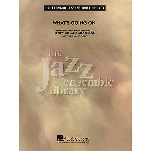 Hal Leonard What's Going On Jazz Band Level 5 by Marvin Gaye Arranged by Les Hooper
