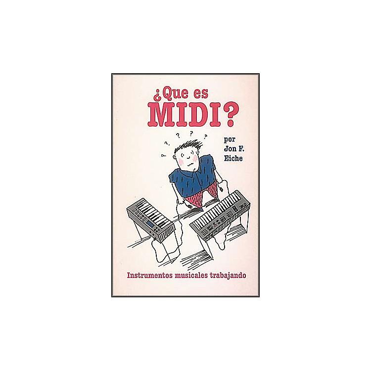Hal LeonardWhat's MIDI?/Que Es MIDI?