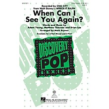 Hal Leonard When Can I See You Again? VoiceTrax CD by Owl City Arranged by Mark Brymer