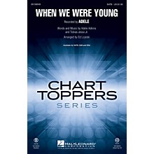Hal Leonard When We Were Young ShowTrax CD by Adele Arranged by Ed Lojeski
