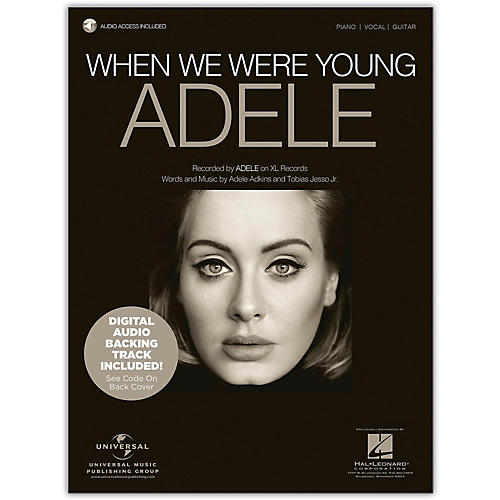 Hal Leonard Where We Were Young - Adele, Piano/Vocal with Online Backing Track-thumbnail