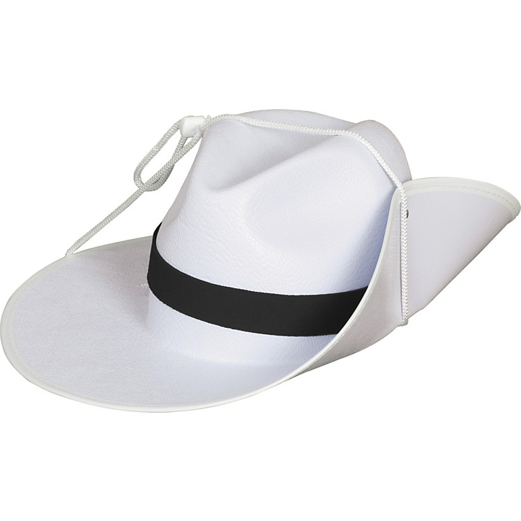 Director's ShowcaseWhite Aussie Hat with Colored Band