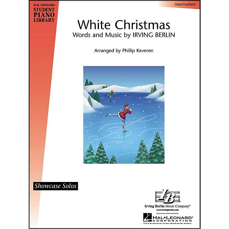 Hal LeonardWhite Christmas Intermediate Hal Leonard Student Piano Library by Phillip Keveren