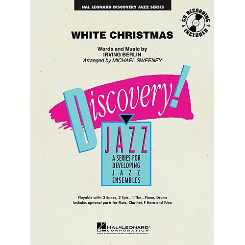 Hal Leonard White Christmas Jazz Band Level 1.5 Arranged by Michael Sweeney-thumbnail