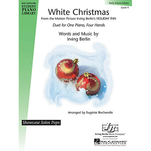 Hal Leonard White Christmas Piano Library Series Book by Irving Berlin (Level 4)-thumbnail