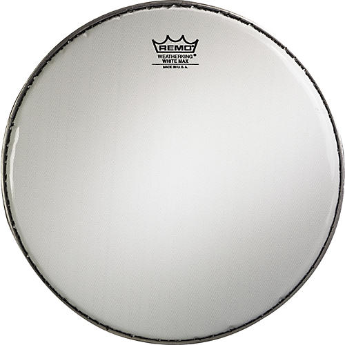 Remo White Max Marching Head 14 inch Snare Head For Pipe Drums-thumbnail