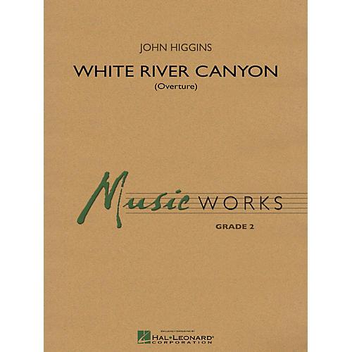 Hal Leonard White River Canyon (Overture) Concert Band Level 2 Composed by John Higgins-thumbnail