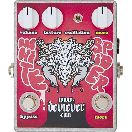 Devi Ever White Spider Overdrive Guitar Effects Pedal