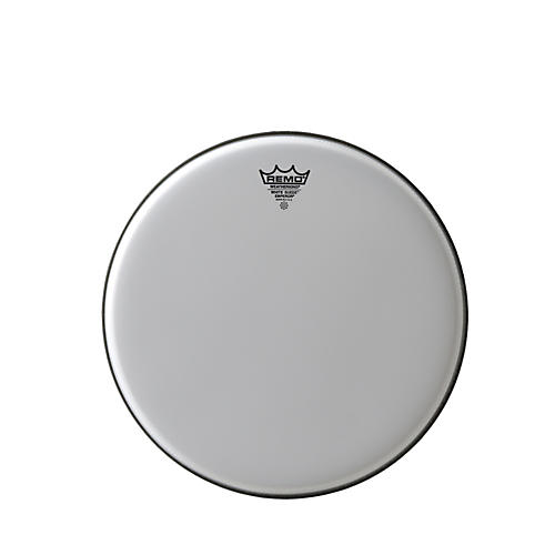 Remo White Suede Emperor Batter Drumhead 8 in.