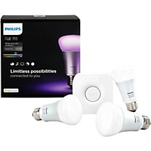 Philips Hue White and Color Ambiance A19 Starter Kit Gen 3