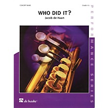De Haske Music Who Did It? Score Only Concert Band