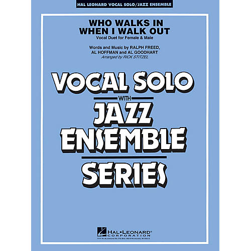 Hal Leonard Who Walks in When I Walk Out? (Key: D minor) Jazz Band Level 3-4 Composed by Al Hoffman-thumbnail