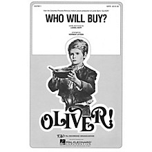 TRO ESSEX Music Group Who Will Buy? (from Oliver) SSA Arranged by Norman Leyden