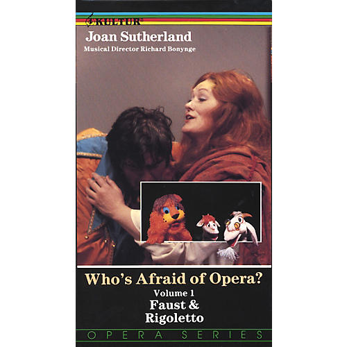 Kultur Who's Afraid Of Opera? Volume 1: Faust and Rigoletto Video