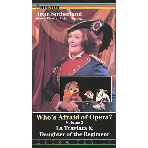Kultur Who's Afraid Of Opera? Volume 2: La Traviata/Daughter Of The Regiment Video-thumbnail