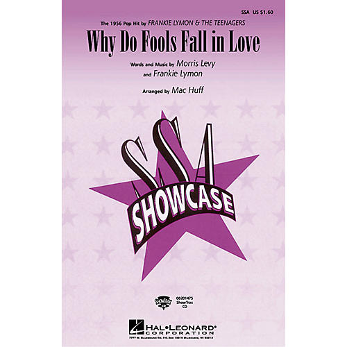 Hal Leonard Why Do Fools Fall in Love ShowTrax CD by Diana Ross Arranged by Mac Huff