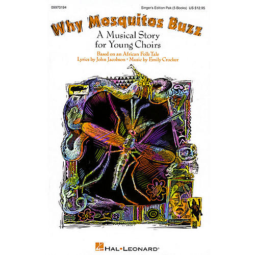 Hal Leonard Why Mosquitos Buzz (Musical) Singer 5 Pak Composed by John Jacobson-thumbnail