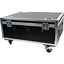 American DJ Wi Flight Case for WiFLY LED PAR Lights with Wheels