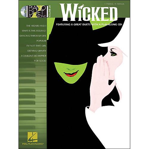 Hal Leonard Wicked - Piano Duet Play-Along Volume 20 (CD/Pkg)-thumbnail